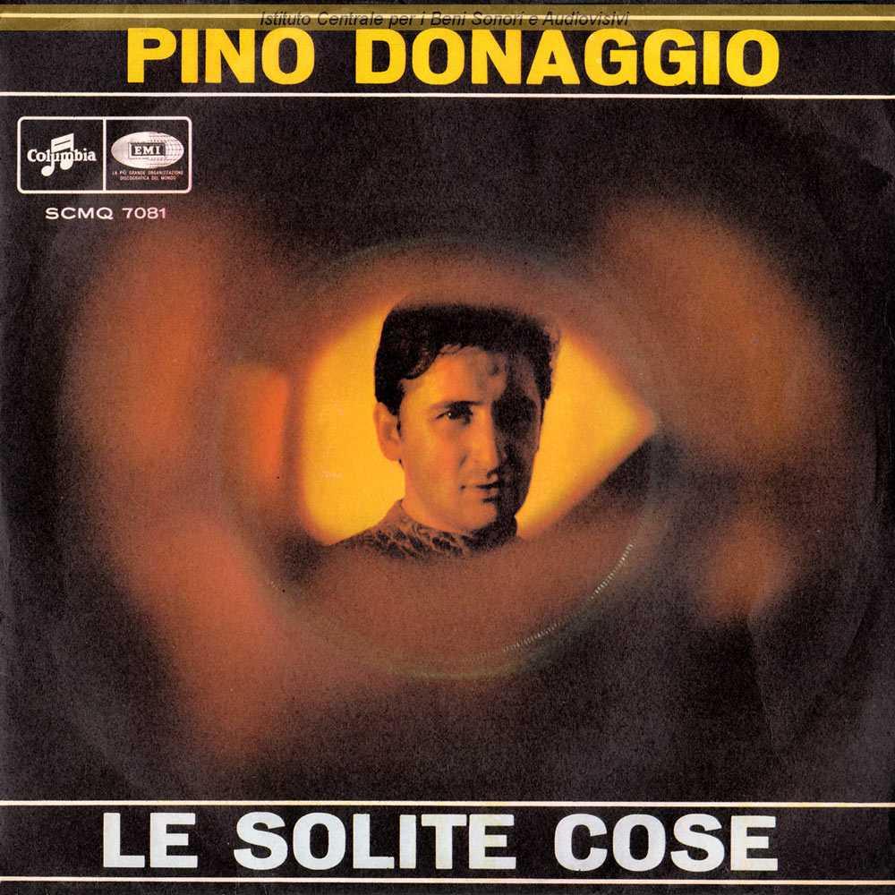 Pino Donaggio Le Solite Cose