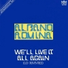copertina di WE'LL LIVE IT ALL AGAIN/NA NA NA